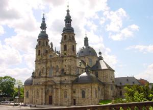 Cattedrale di Fulda sul luogo dell'abbazia fondata da san Bonifacio