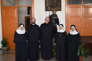 con le monache di Aversa