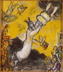 Marc-Chagall-Moses-receiving-the-Tablets-of-Law-4-