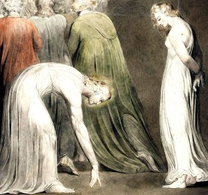 WIlliam Blake, The woman taken in adultery (1805 circa)