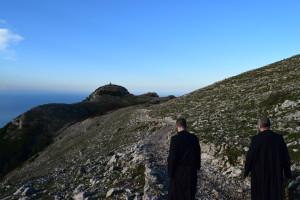 verso il monte Redentore