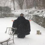 in mezzo alla neve!